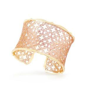 Kendra Scott Candice Rose Gold Cuff